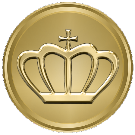 Crowns Legacy Medal Gold