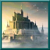 fantasy castle square crowns