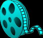 Film Reel Tealish