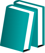Two Teal Books